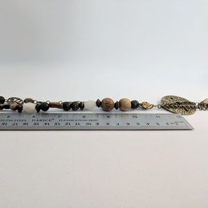 Coldwater Creek Jewelry - Coldwater Creek Boho Wooden Bead Necklace